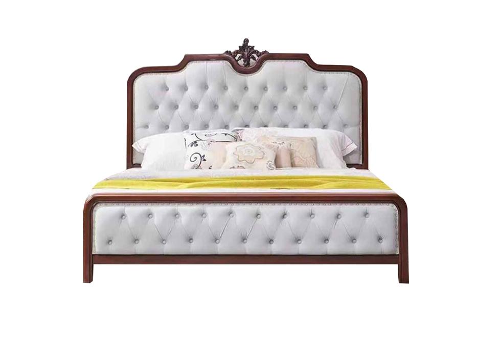 轻奢实木床