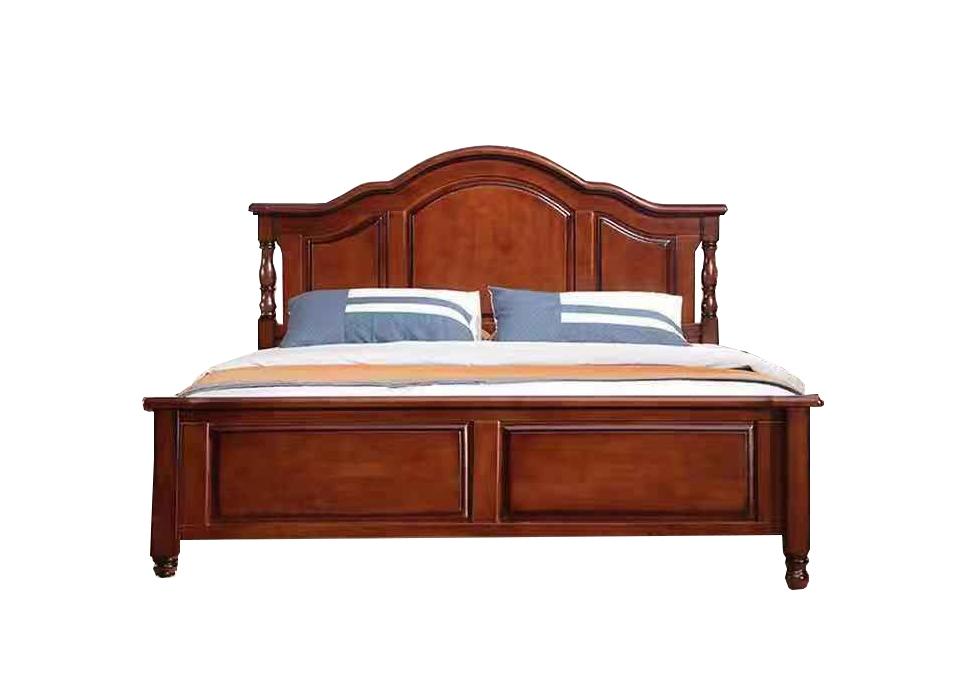 美式橡木床
