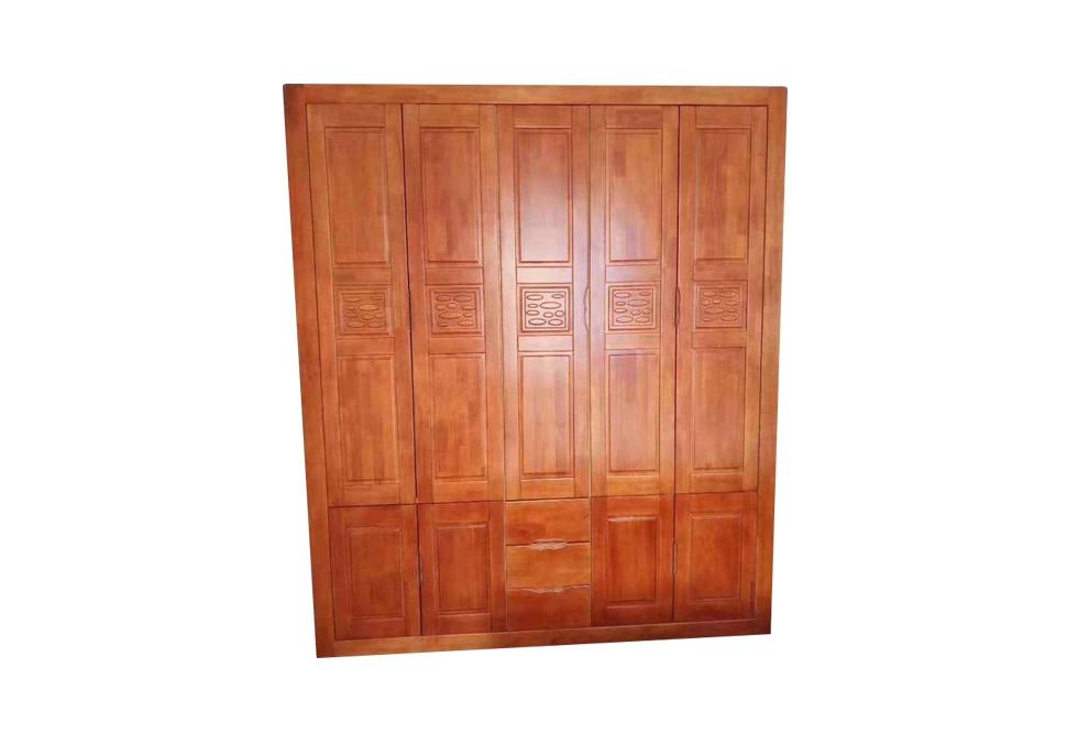2.2米开门衣柜橡木门