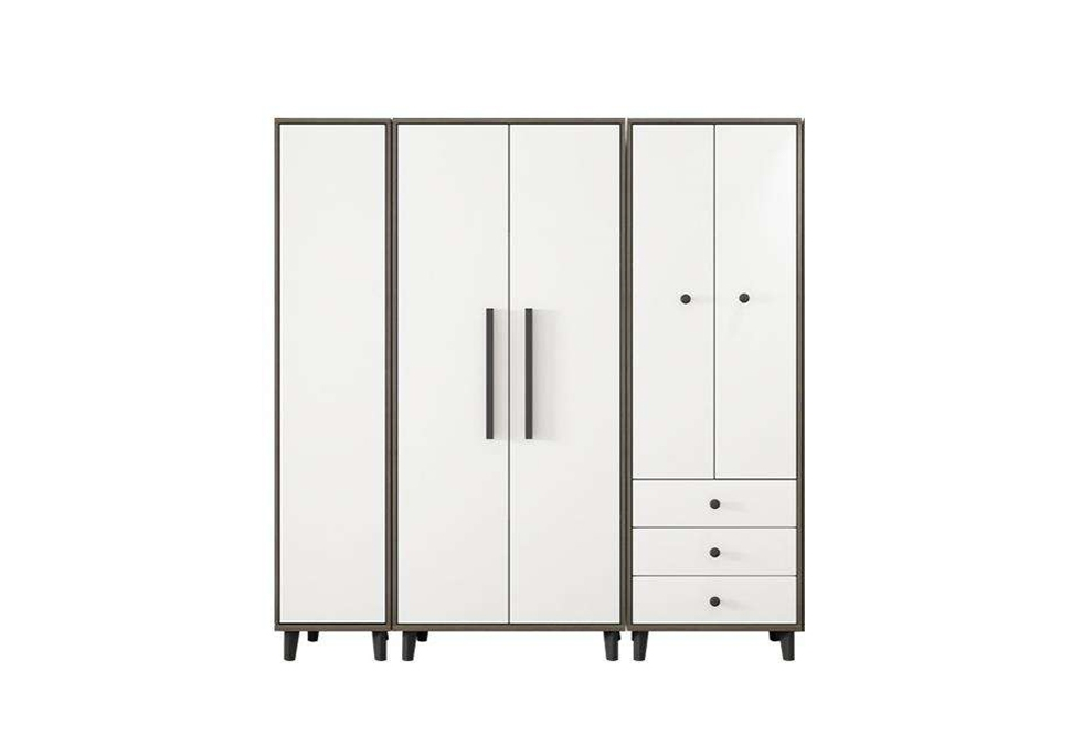 现代板式衣柜