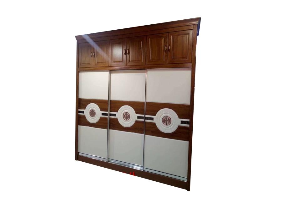 实木芯免漆板衣柜