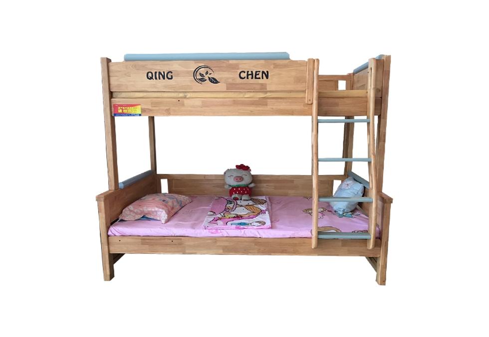 橡木子母床