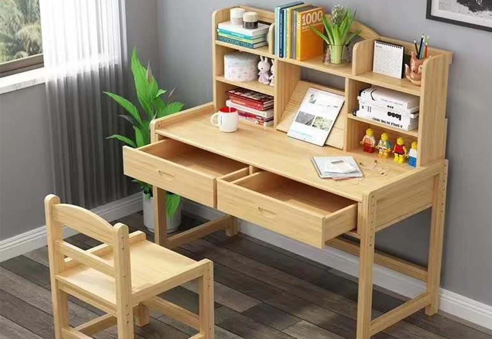 多尺寸松木电脑书桌