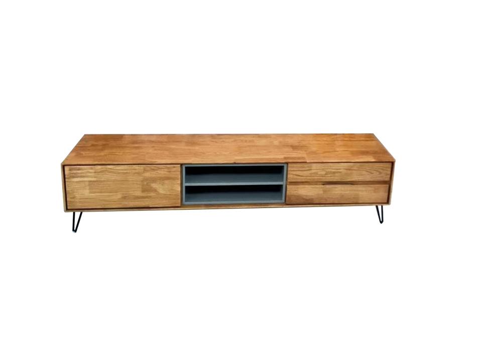 橡木压纹电视柜