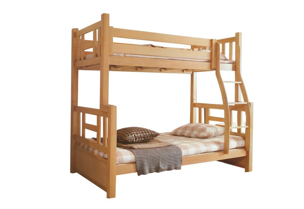 1.5米榉木子母床