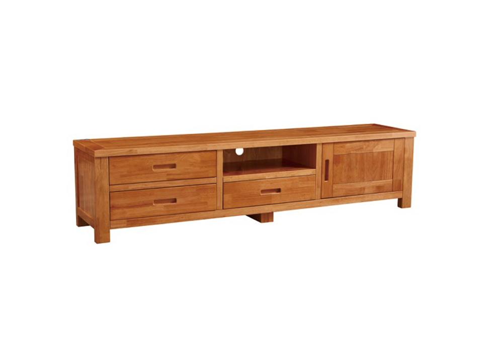 1.8米中式实木电视柜