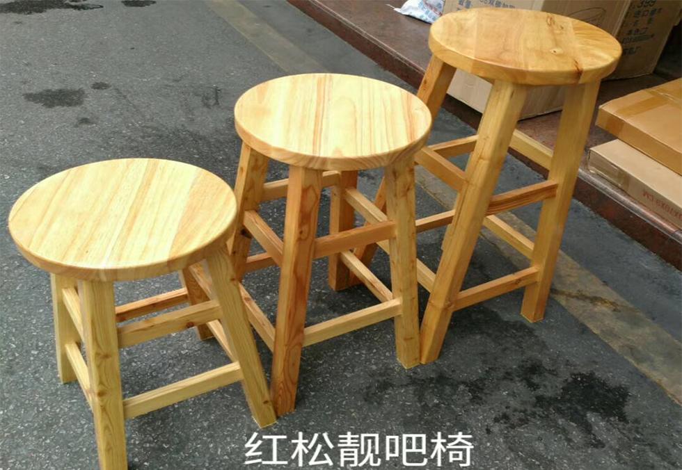 红木实木圆凳