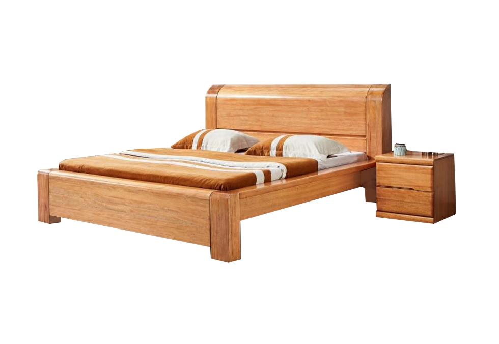 金丝木休闲大床