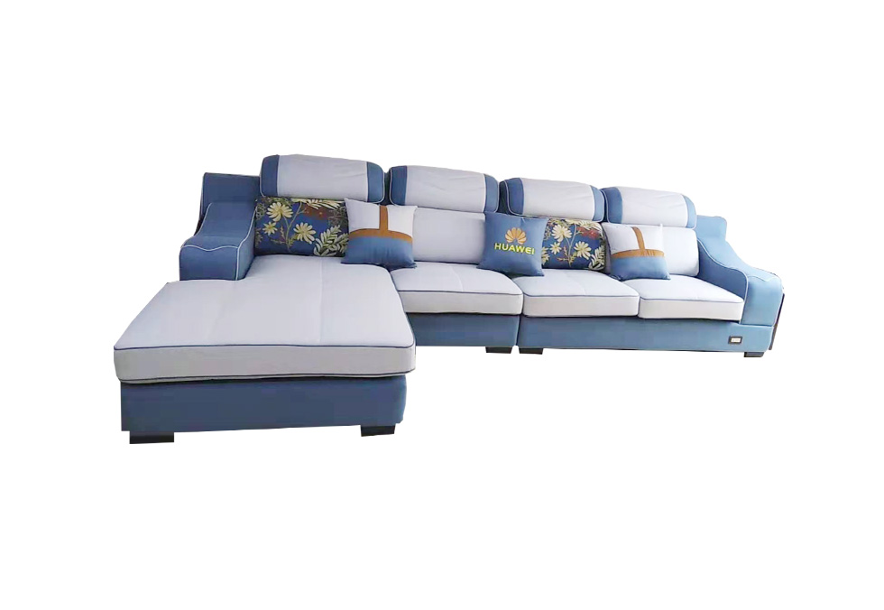 3.6米布艺沙发 科技布沙发
