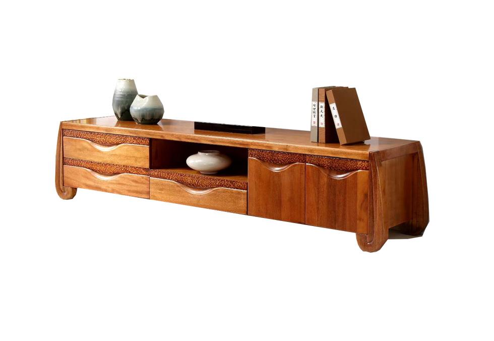 2米橡木新款式电视柜